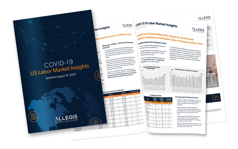 US COVID-19 Impact Analysis White Paper